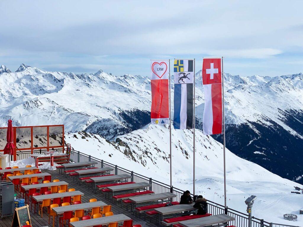 Vlaggen Davos