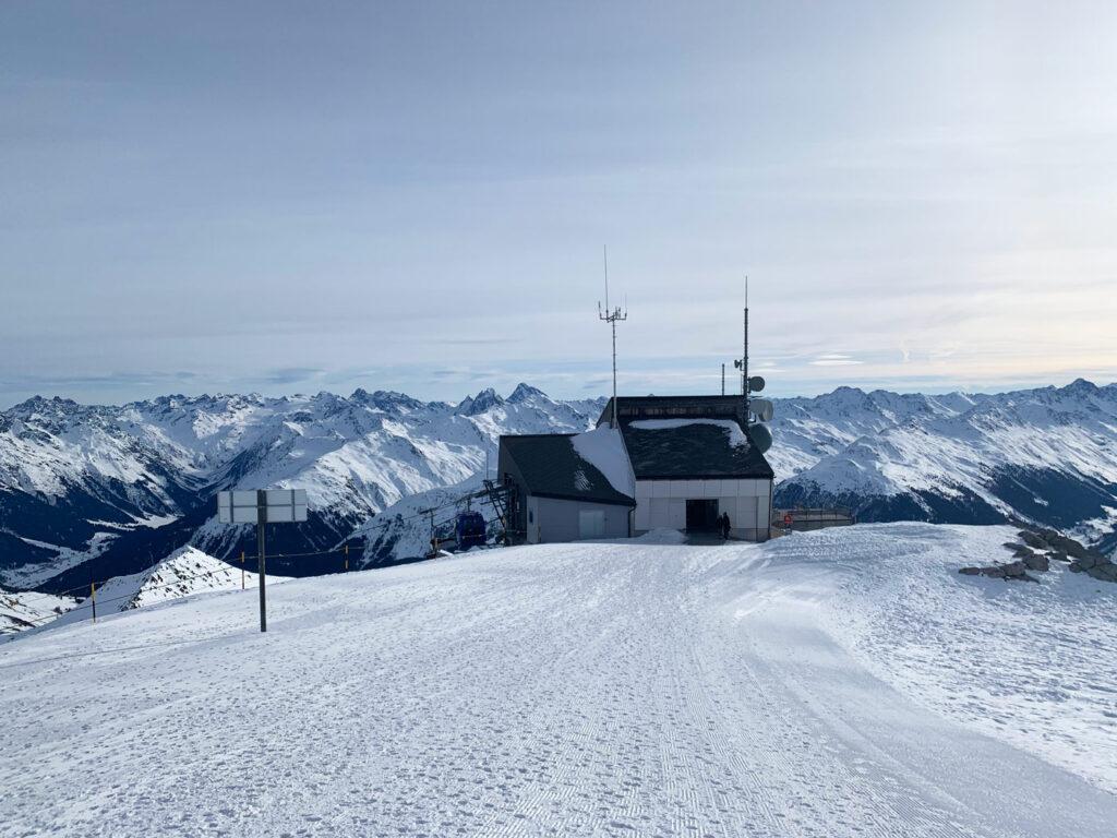 Weissfluhgipfel Davos