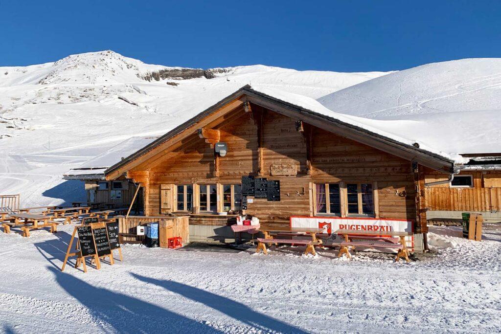 Berghut in Grindelwald