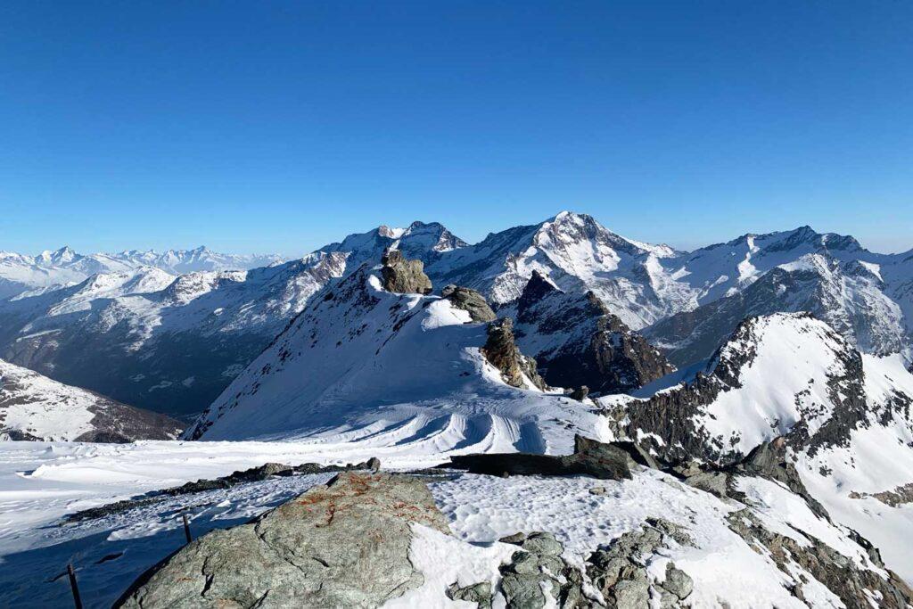 Gletsjer en snowfarming Saas Fee