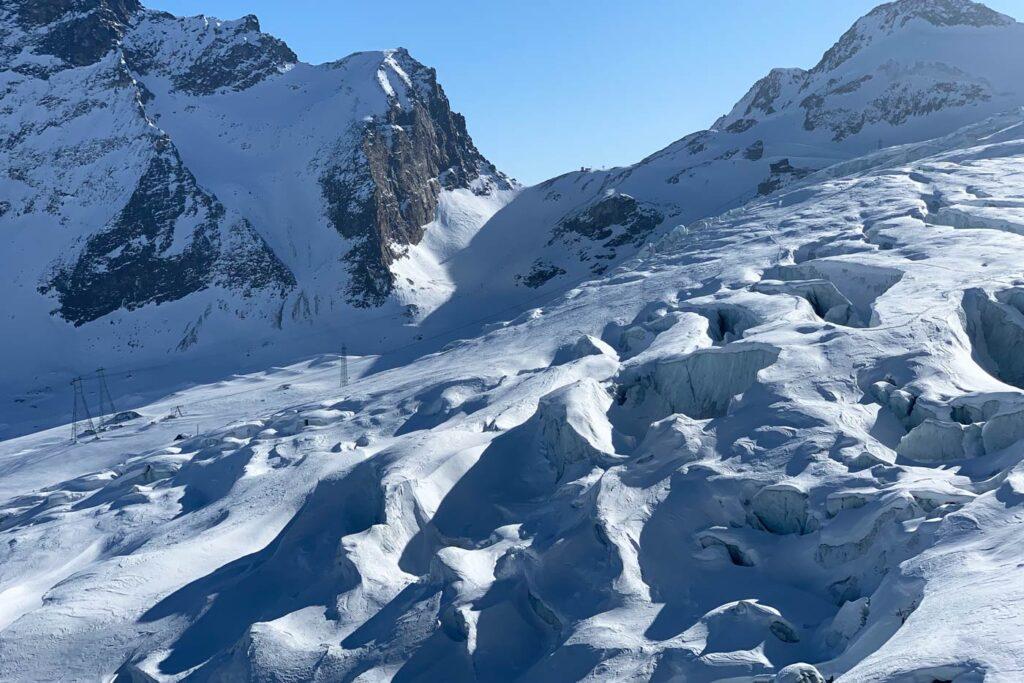Gletsjerijs Saas Fee