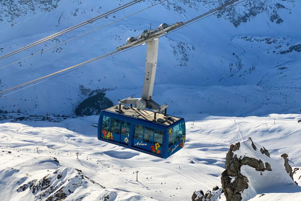 Skigebieden met meer dan 200 km aan pistes Arosa Lenzerhijde