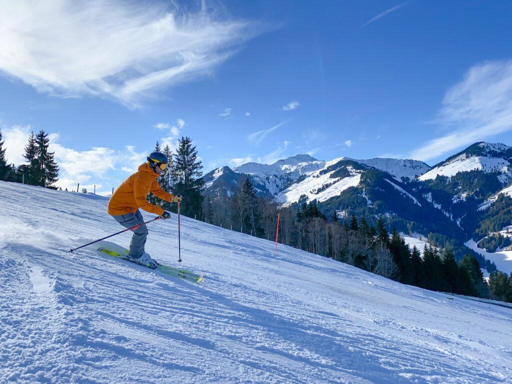 Skiën Kirchberg wintersport februari