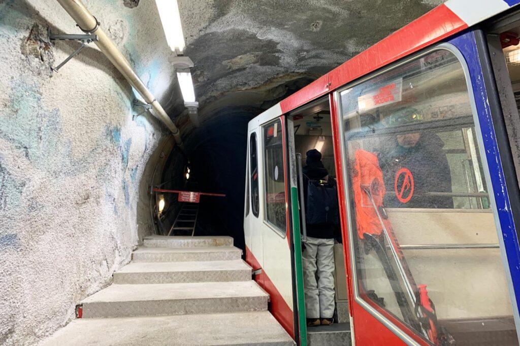 Metro naar gletsjer