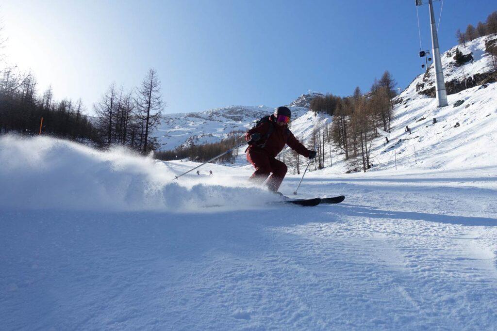 Skiën Saas Fee