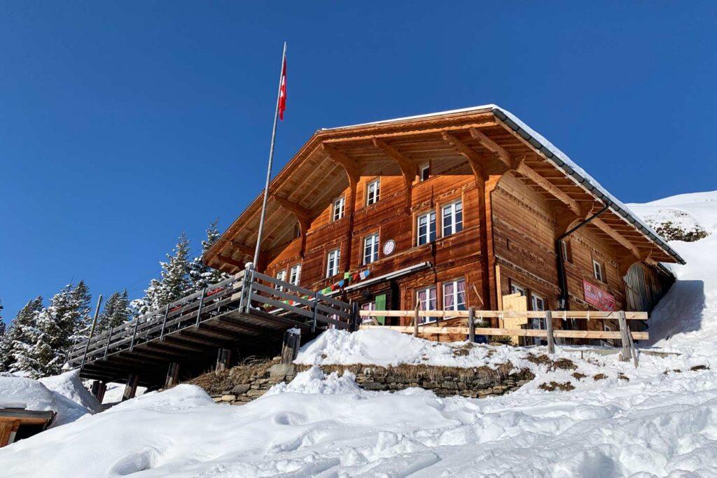 Berghut in Zwitserland