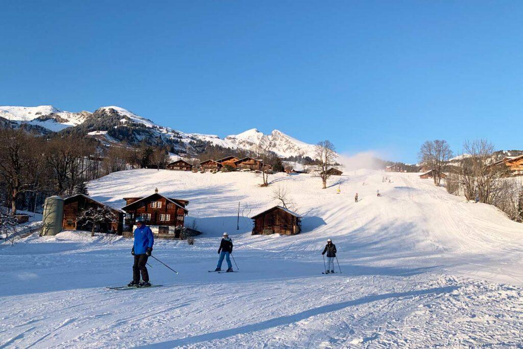 Dalafdaling Grindelwald naar Bus Stop