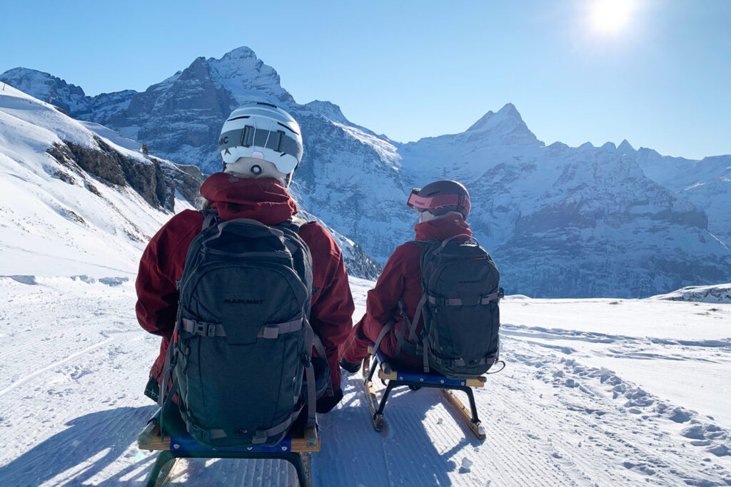 Rodelen in Grindelwald