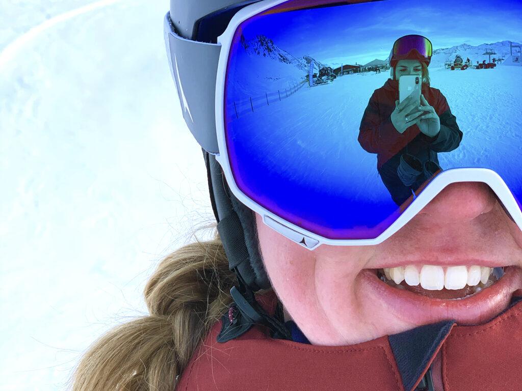 Skibril wintersportcadeaus onder de kerstboom