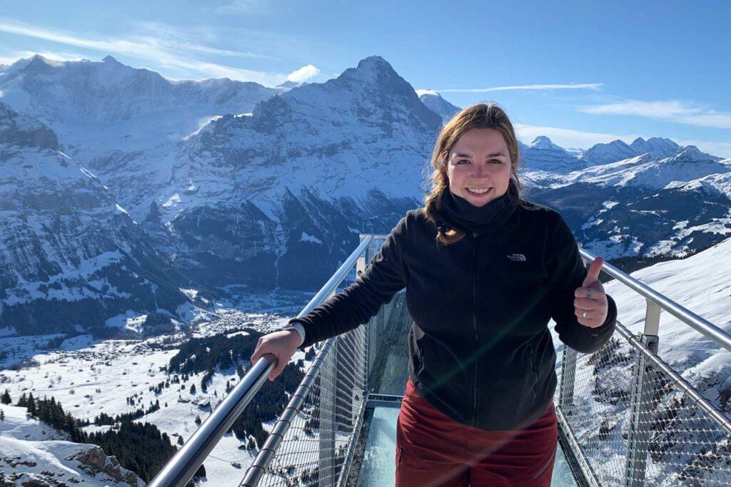 Uitzichtplatform Grindelwald