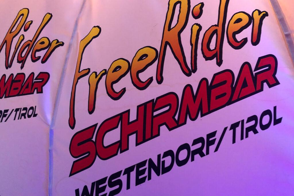 après-ski in Westendorf bij Freerider Schirmnbar