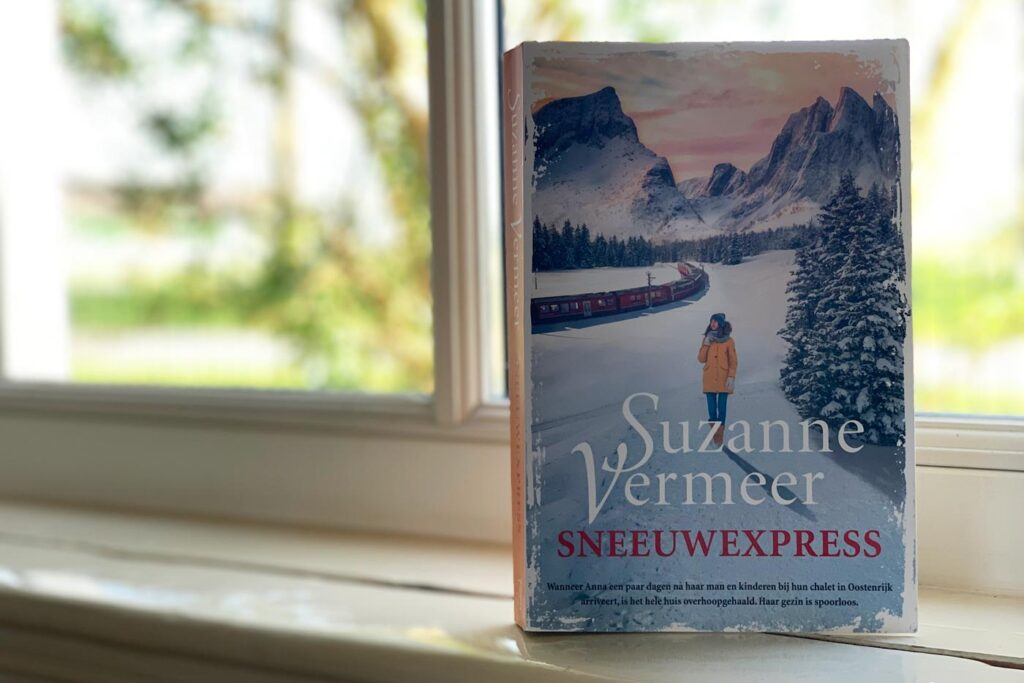 Boeken over wintersport: sneeuwexpress Suzanne Vermeer