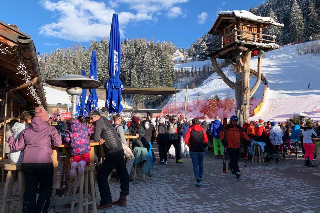 Apres ski Italie