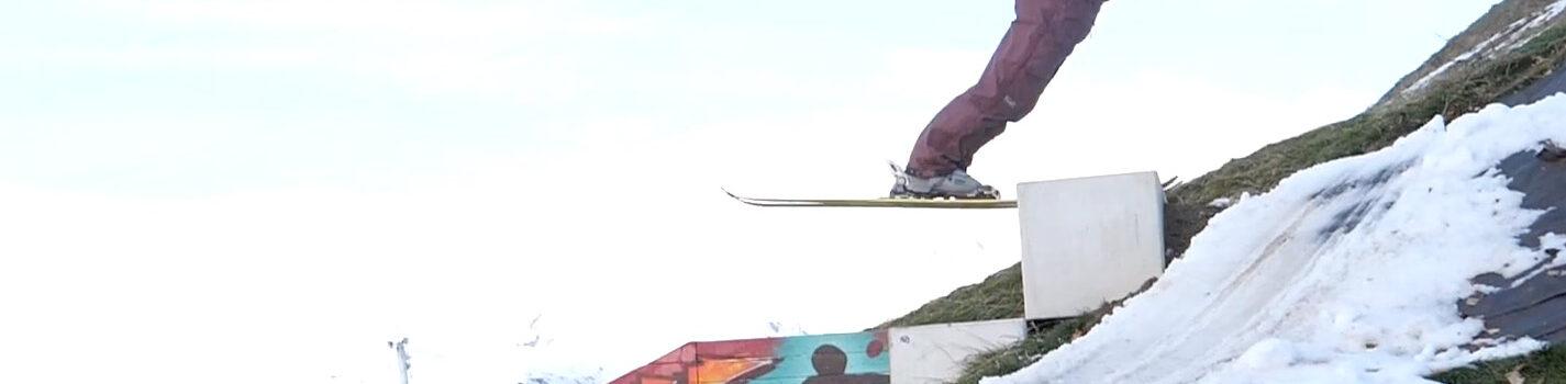 Bizarre dingen op ski's
