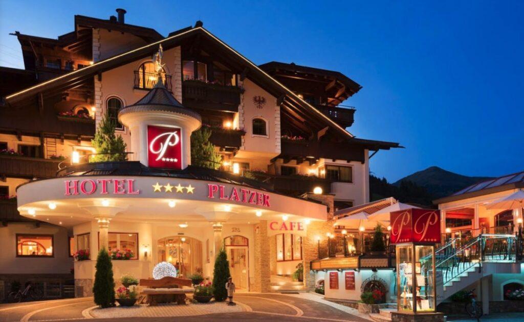 Hotels met zwembad wintersport Oostenrijk hotel Platzer in Gerlos
