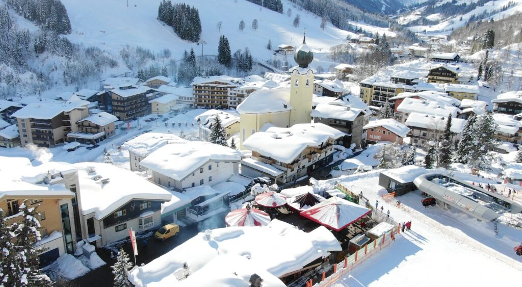 Hotels aan de piste in Saalbach