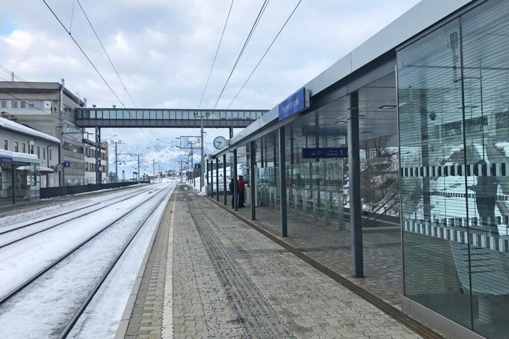 wintersport met de trein naar Oostenrijk