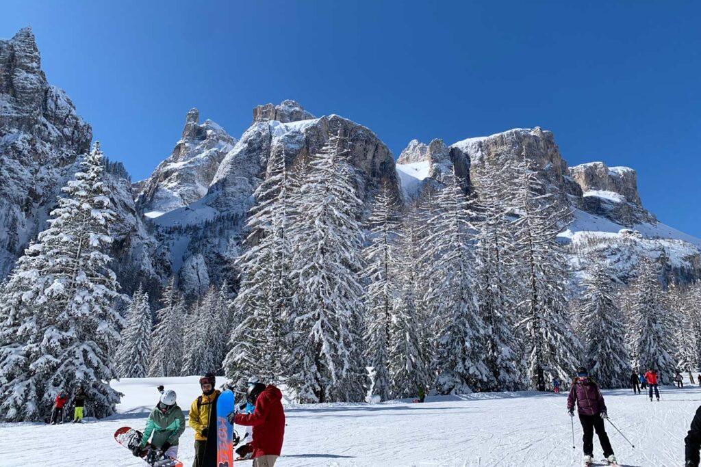 Wintersport met de bus in Italië