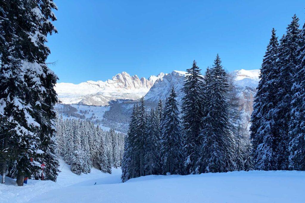 Sneeuw Val Gardena
