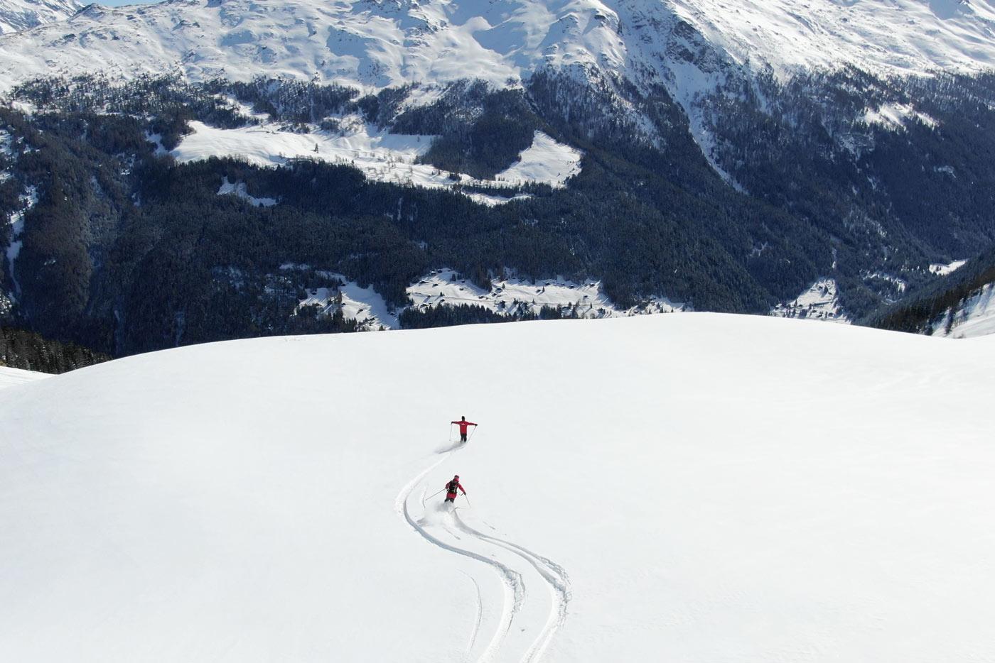 Off-piste skiën heliskiën