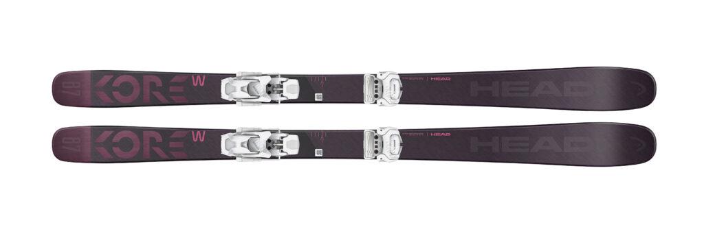 twintips freestyle ski's