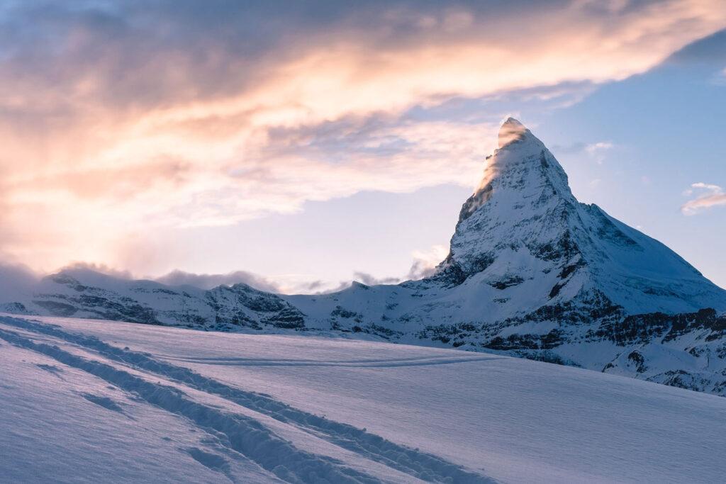 Matterhorn hoogste bergen europa