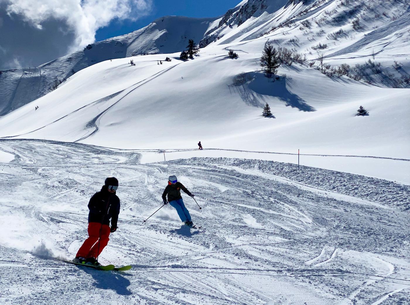 Skiën in de Portes du Soleil