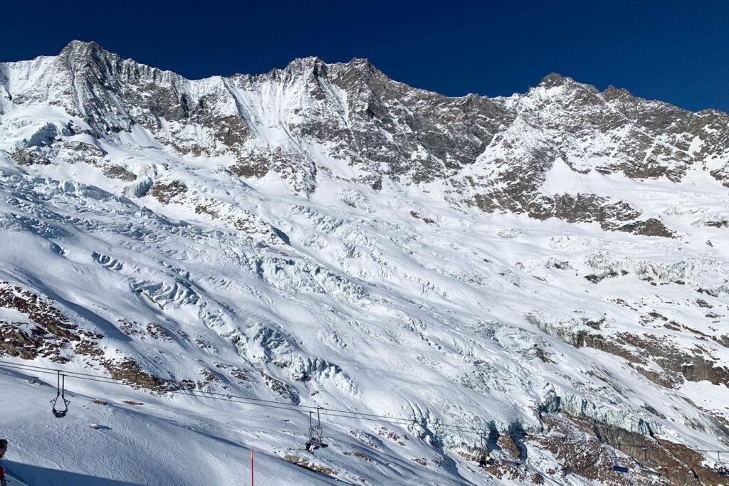 Dom Saas Fee hoogste bergen europa