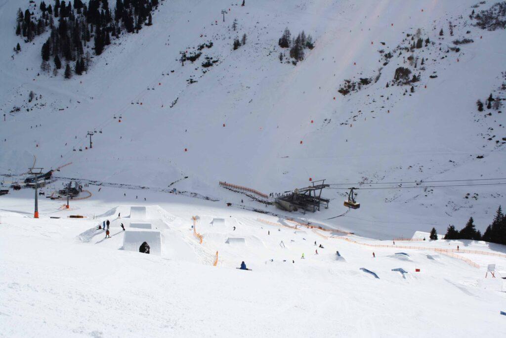 Funpark Mayrhofen freestyle skiën