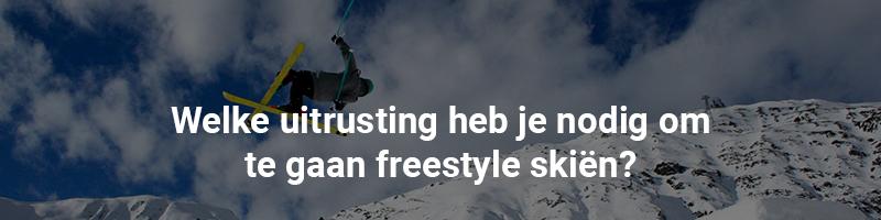 Welke uitrusting nodig voor freestyle skiën