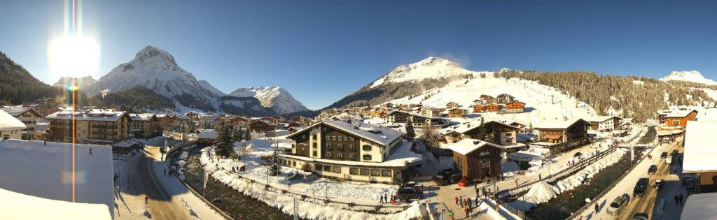 Lech am Arlberg winter