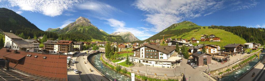 Lech am Arlberg zomer