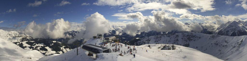 Mayrhofen in de winter