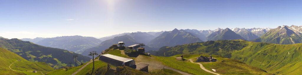 Mayrhofen in de zomer