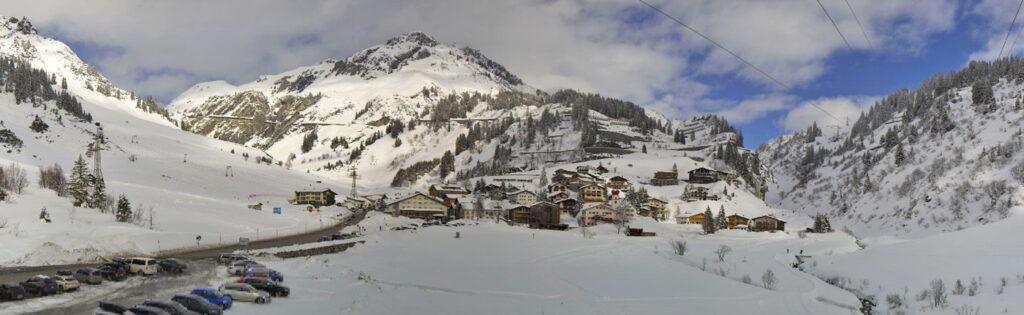 Stuben am arlberg winter