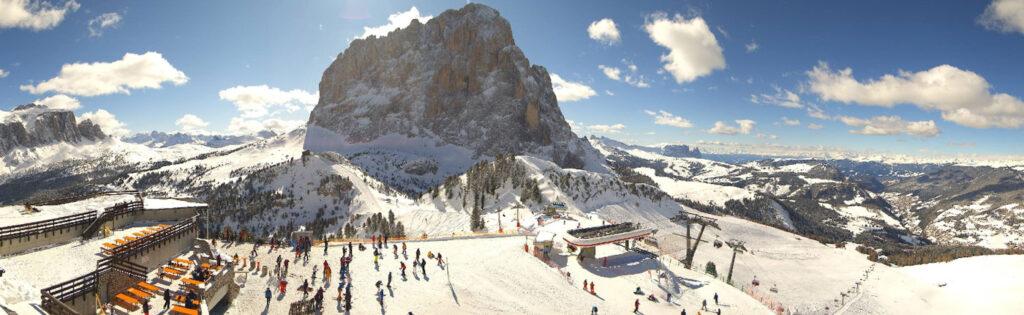 Val Gardena winter