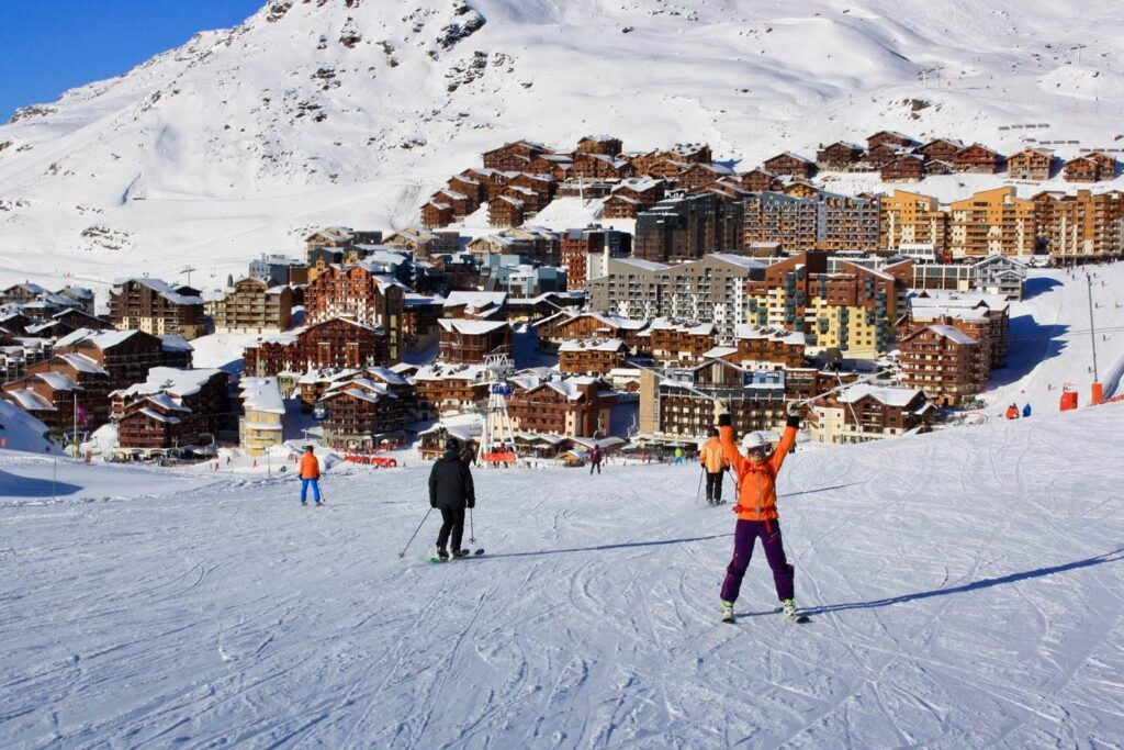 Wintersport in april in Val Thorens