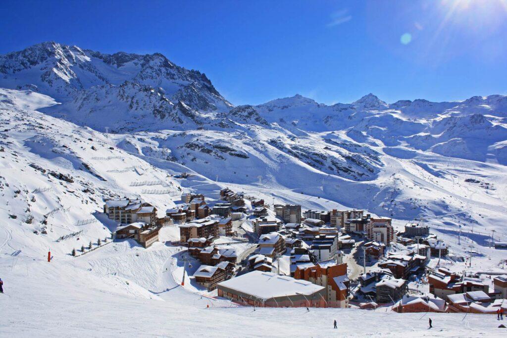 Val Thorens wintersport vakantiepark frankrijk