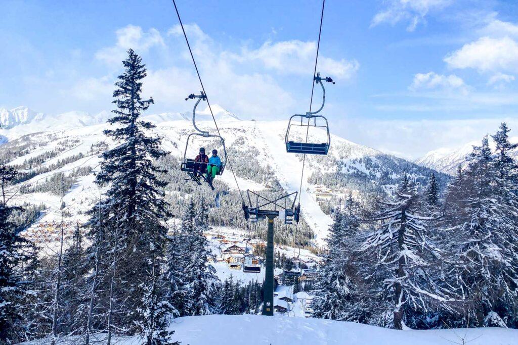 Wintersport met kinderen in Katschberg
