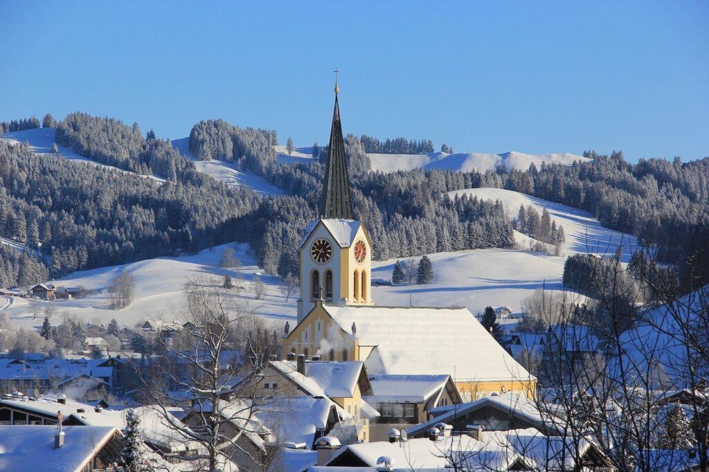 Wintersport op vakantiepark Duitsland