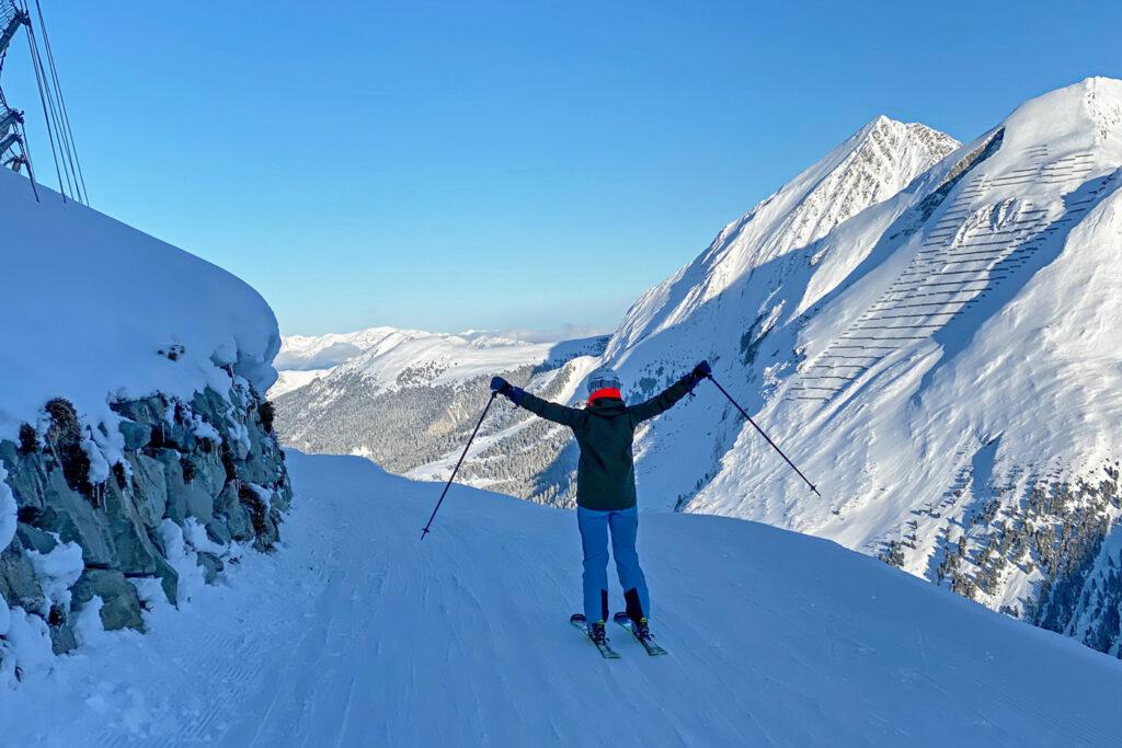 Skiën op de hintertuxer Gletscher sneeuwzekere skigebieden Oostenrijk
