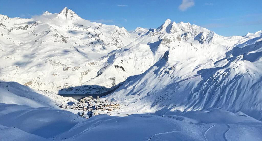 coronamaatregelen wintersport Tignes