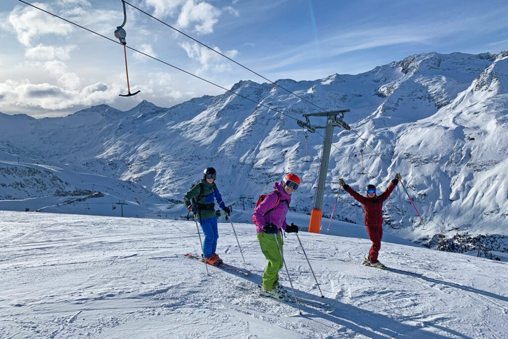 Wintersport in Gurgl
