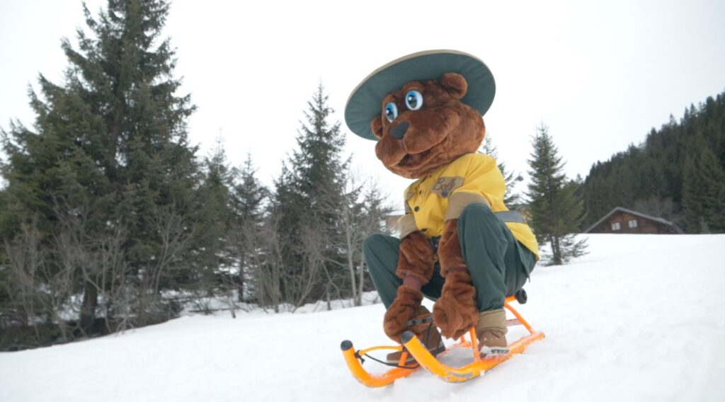 Wintersport boeken op een vakantiepark