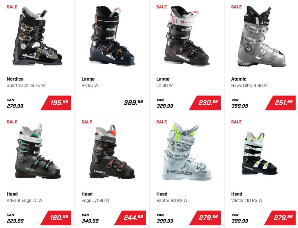 skischoenen voor dames kopen DAKA