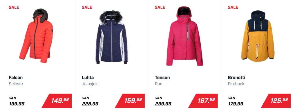 Wintersportkleding trends 2020/2021 verschillende kleurtjes