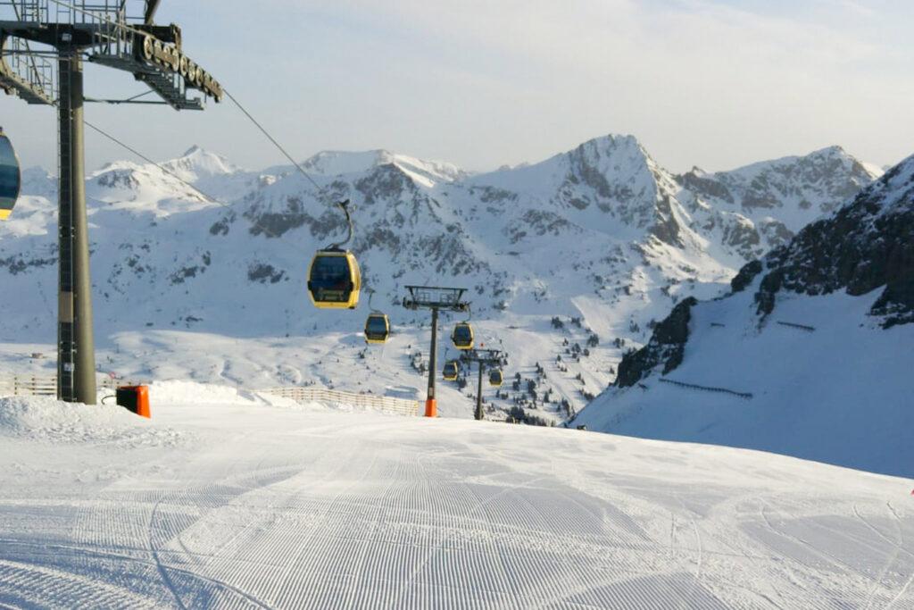 coronamaatregelen skigebied Obertauern