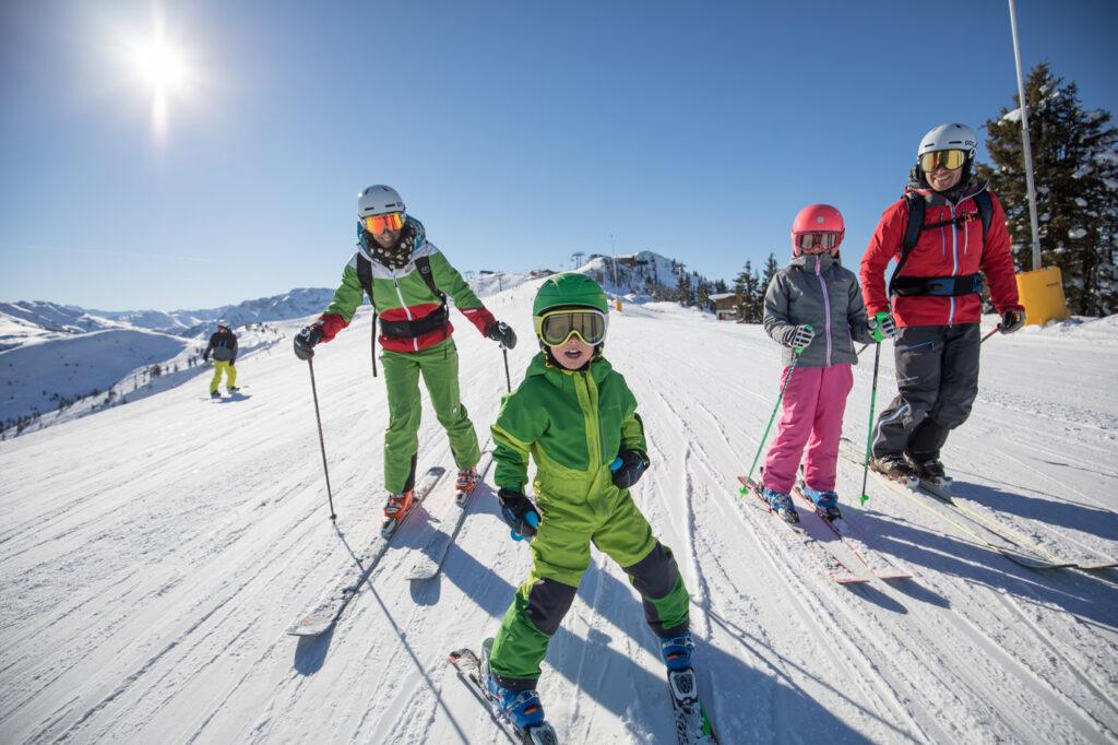 Skiën met kinderen in Ski Juwel