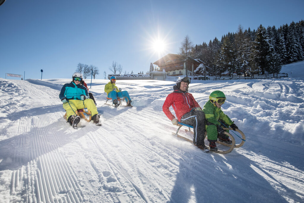 Activiteiten Ski Juwel rodelen