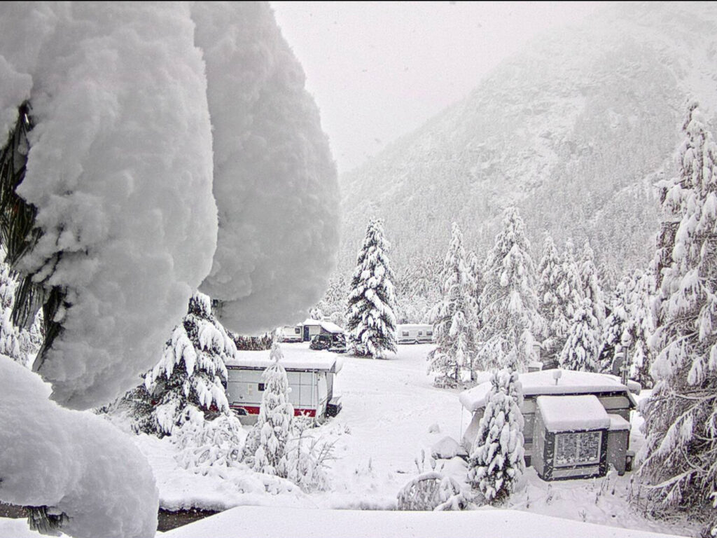 Webcambeeld Morteratsch Zwitserland
